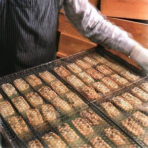お中元 おかき 丹波黒豆 玄米おかき(大缶)ギフト プレゼント おかきのげんぶ堂|arumama|04