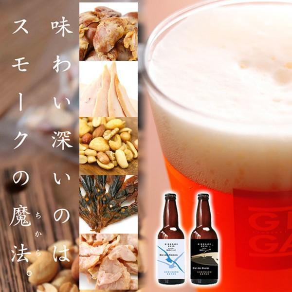 お中元 城崎温泉の地ビール クラフトビール2本&燻製5点 おつまみセット ギフト オンライン飲み会 家飲み 送料無料|arumama