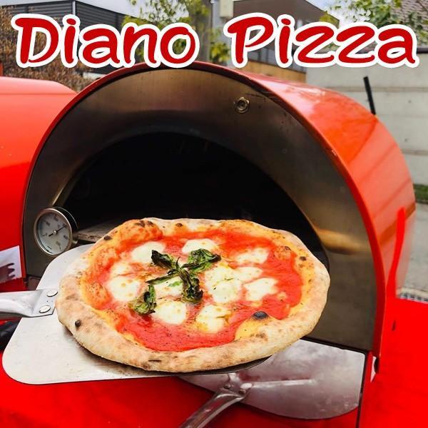 ピザ窯 Diano Pizza(ディアーノピッツァ)ポータブル ガス オーブン 家庭用 アウトドア キャンプ イベント|arumama