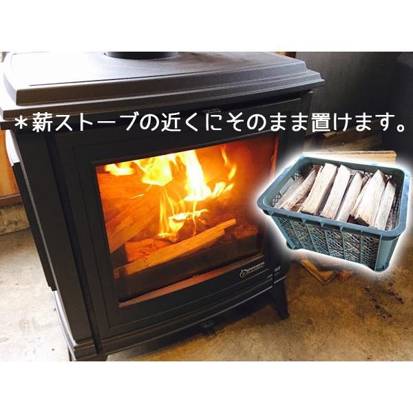 薪 約30cm コンテナ入り 乾燥品 兵庫県産 kikori 神鍋マキストーブ 送料無料|arumama|03