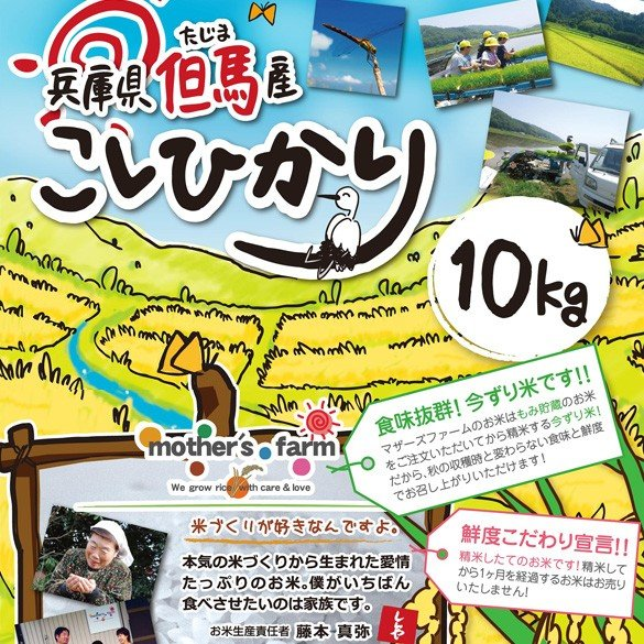 【定期購入】令和2年産 10kgx6回 玄米 白米 今ずり米 無洗米 減農薬・特別栽培米 コシヒカリ arumama 02