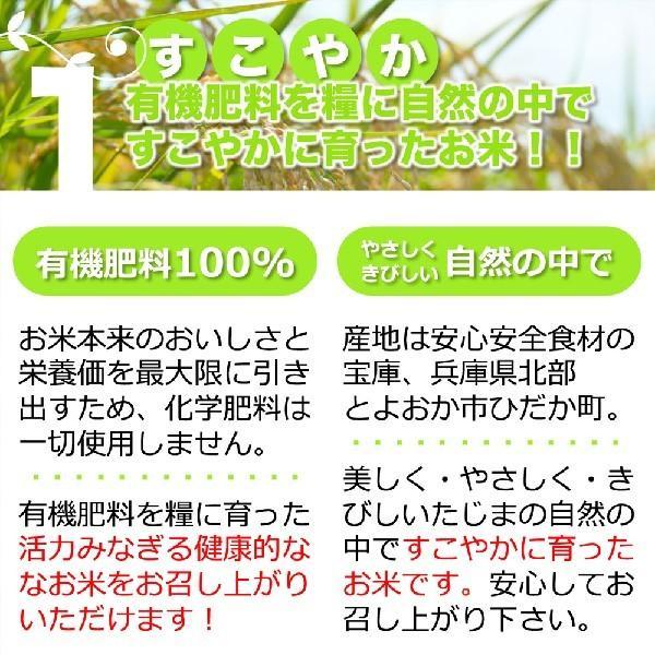 令和2年産 無洗米 コシヒカリ 玄米 白米 10kg 今ずり米 兵庫県 但馬産 arumama 05