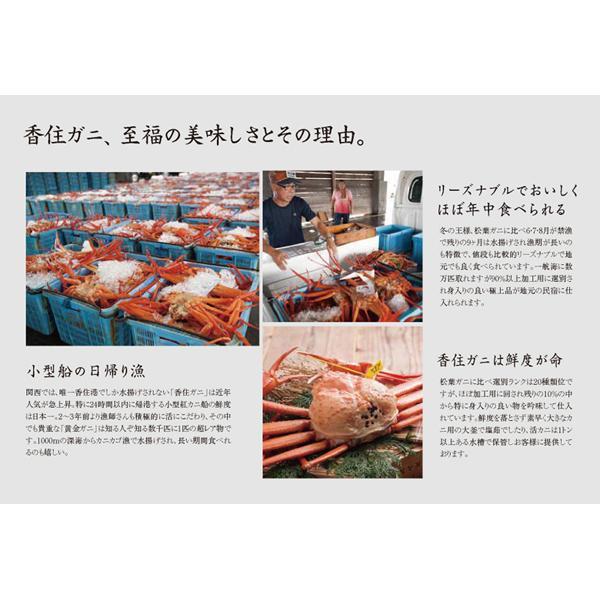 香住ガニ(2匹入り) 焼き・しゃぶセット ベニズワイガニ 生冷凍|arumama|10