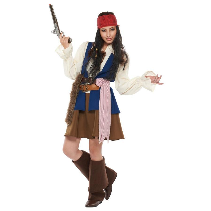 海賊 女性 パイレーツオブカリビアン 変装 コスチューム ジャック