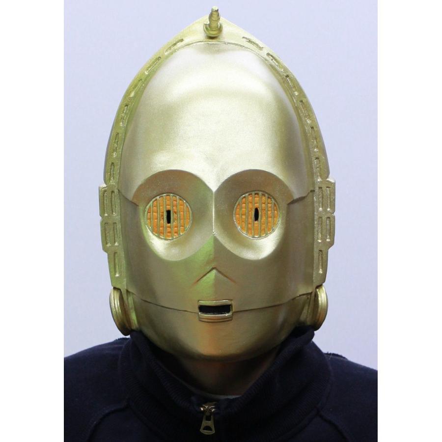 c2a6205d101d9 なりきりマスク C3PO シースリーピーオー STAR WARS スターウォーズ公式 ...