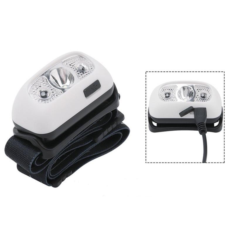 小型、充電式センサーヘッドライト/軽量、コンパクト/夜釣り 災害時&レジャー|arusena39|08