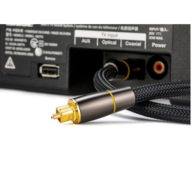 光デジタルケーブル 1.5m 高品質光ケーブル TOSLINK 角型プラグ オーディオケーブル/D0022|arusena39|04