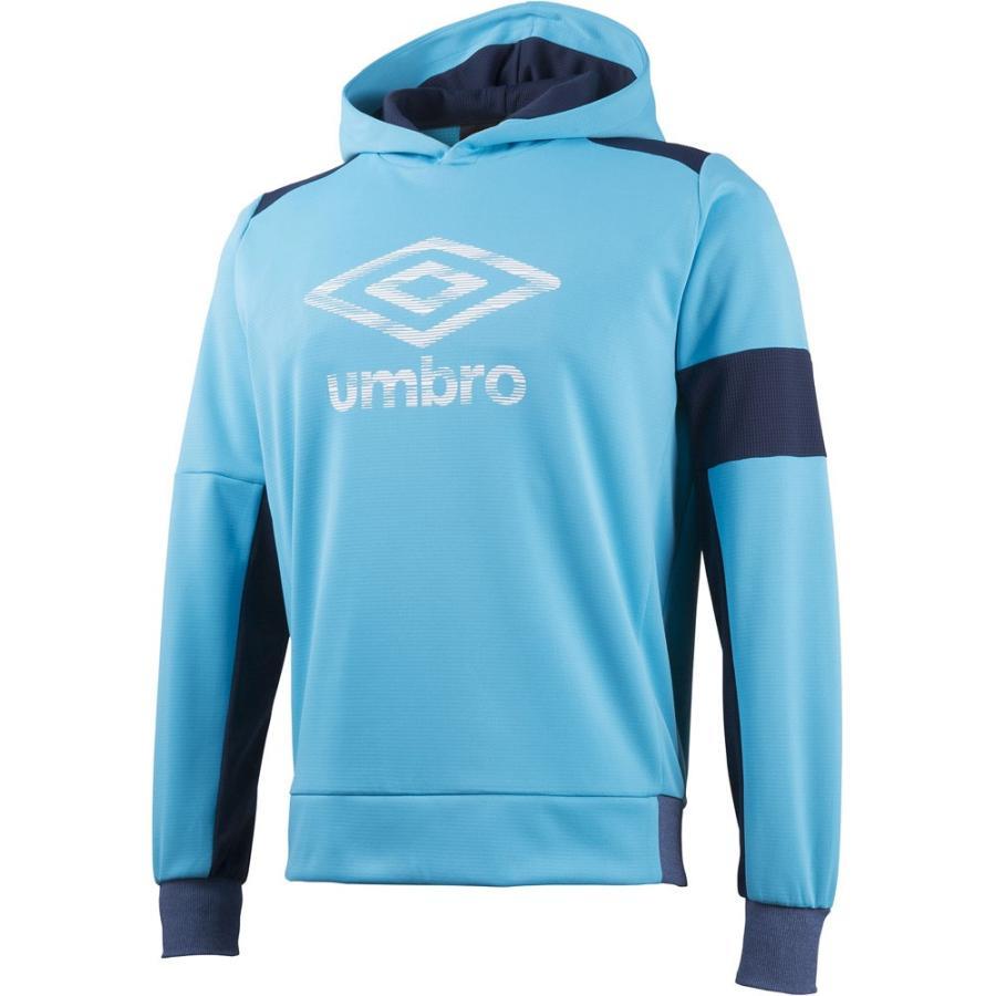 UMBRO(アンブロ) UCA3649 AQUA サッカー トレーニングスウェット FDD トップ 17SS