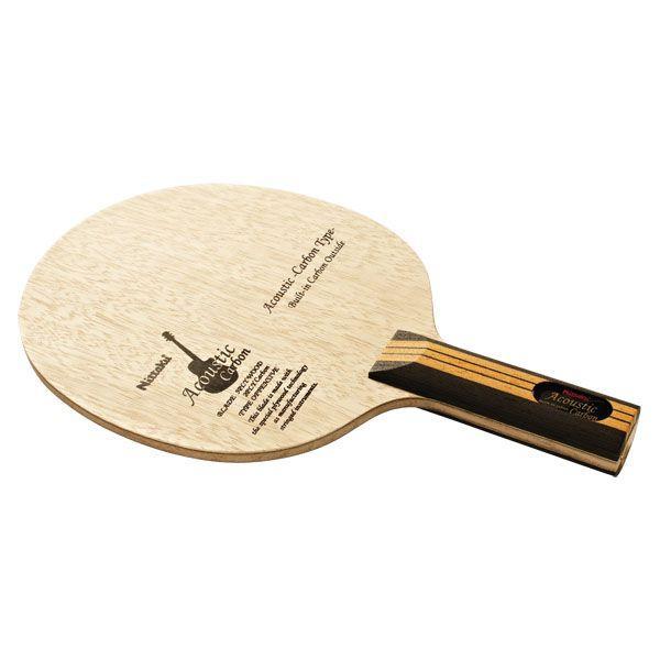 ニッタク(Nittaku) アコースティックカーボンST NC0384 卓球 ラケット 14SS