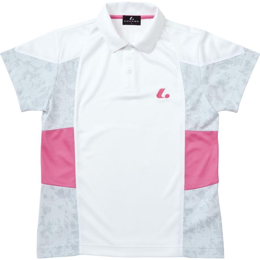 LUCENT(ルーセント) XLP4760  テニス LADIESゲームシャツXLP4760 ホワイト 16SS