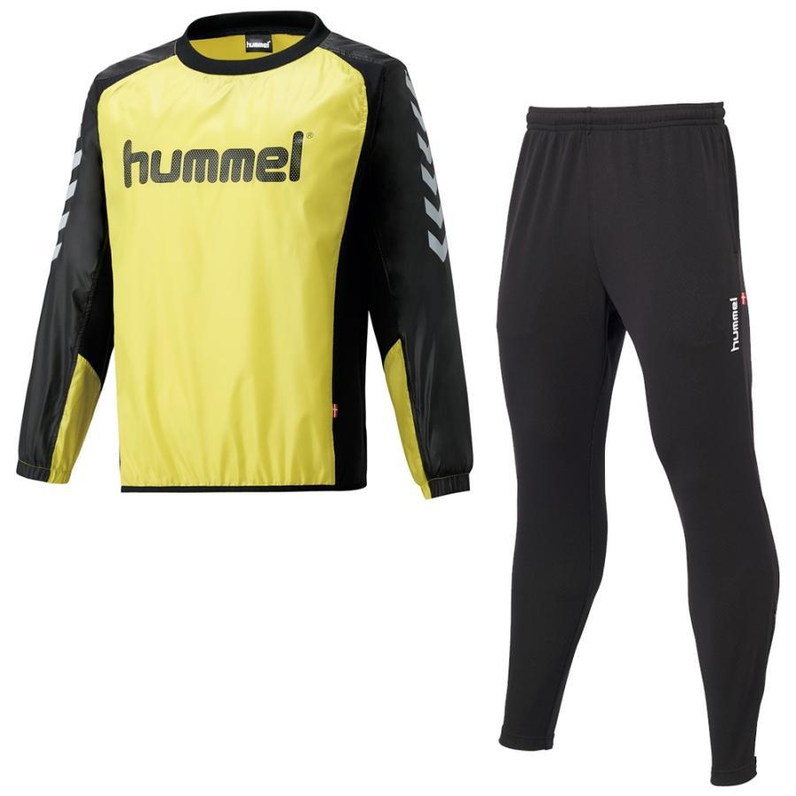 ヒュンメル(hummel) HAW4183SP 32 サッカー ピステトップ+テックパンツセット 18FW
