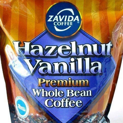 ZAVIDA ザビダ ヘーゼルナッツ バニラホールビーン コーヒー豆 907g×2個 フレーバーコーヒー asahi-store-chiba 03