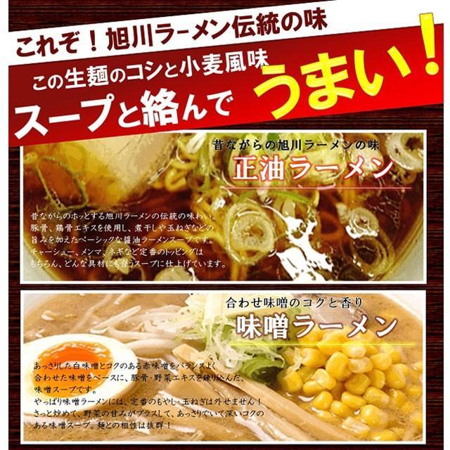 ポイント消化 送料無料 お試し 500円 メール便 北海道 旭川 生ラーメン2食セット asahikawaseimen 05