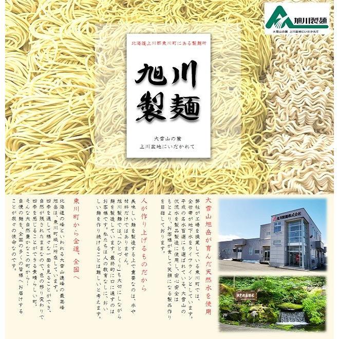 ポイント消化 送料無料 選べるスープ4種類 北海道 旭川 生ラーメン4食セット asahikawaseimen 08