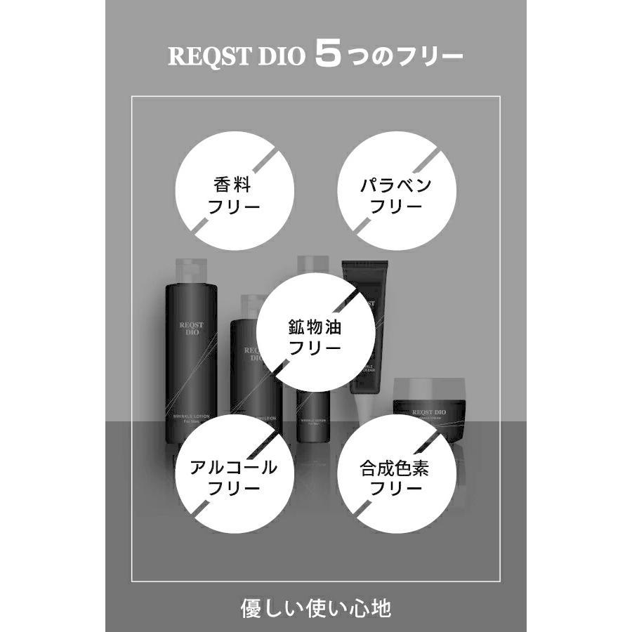 REQST DIO 美容液 メンズ エイジングケア シワ改善 シミ くすみ 予防 ハリ 保湿 ナイアシンアミド配合 48g【医薬部外品】|asahiyanet|11