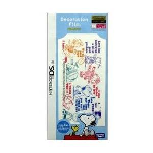 メール便OK 新品 DSHD DSLite専用デコレーションフィルム 流行のアイテム 蔵 在庫品 Peanuts スポーツ