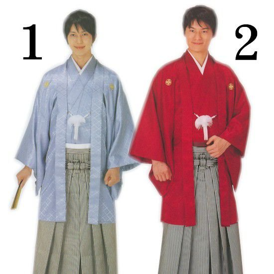 紋付 袴 10点フルセット 成人式 卒業式 男 晴着 紳士 アンサンブル 羽織 福袋|asakusa|02