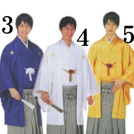 紋付 袴 10点フルセット 成人式 卒業式 男 晴着 紳士 アンサンブル 羽織 福袋|asakusa|03
