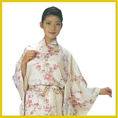 日本製 外国人向 きもの 外人 着物 梅に鶴 Ume blossoms and Crane 土産 みやげ 日本 プレゼント z欧E733