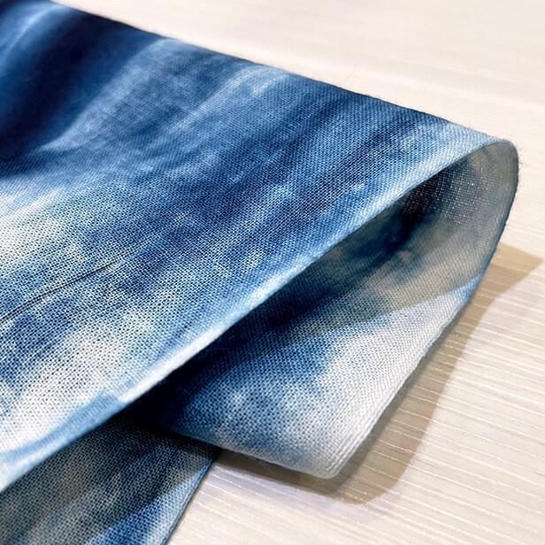 【天然染料】阿波藍染め手ぬぐい/和インテリア 飾る/日本製 綿100%/日本土産 外国人に人気/スカーフ 手ぬぐいマスク タペストリーにおすすめ/アート蒼 asanoha-shop 04