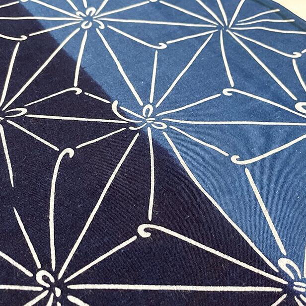【天然染料】阿波藍染め手ぬぐい/和インテリア 飾る/日本製 綿100%/日本土産 外国人に人気/スカーフ 手ぬぐいマスク タペストリーにおすすめ/アート蒼 asanoha-shop 05