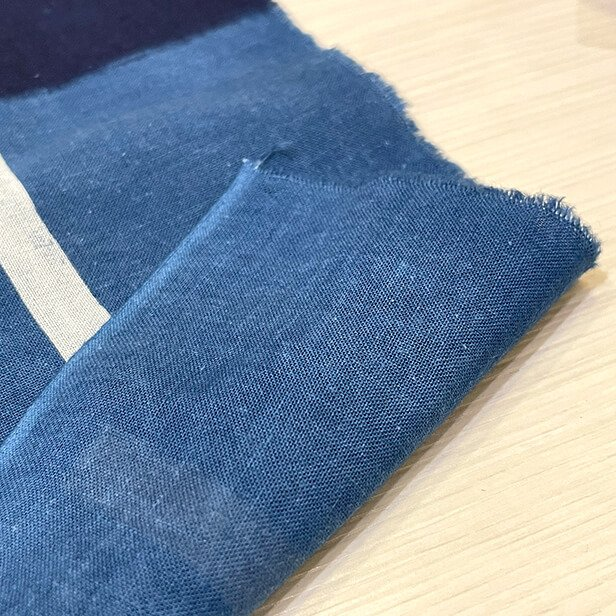 【天然染料】阿波藍染め手ぬぐい/和インテリア 飾る/日本製 綿100%/日本土産 外国人に人気/スカーフ 手ぬぐいマスク タペストリーにおすすめ/アート蒼 asanoha-shop 06