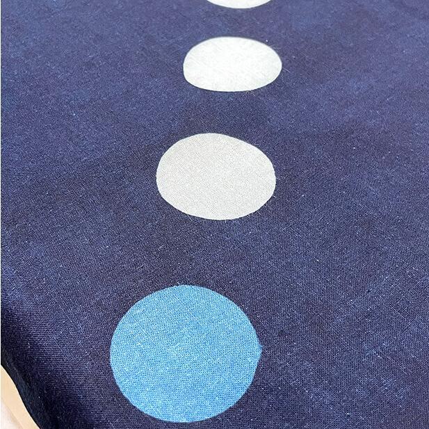 【天然染料】阿波藍染め手ぬぐい/和インテリア 飾る/日本製 綿100%/日本土産 外国人に人気/スカーフ 手ぬぐいマスク タペストリーにおすすめ/アート蒼 asanoha-shop 07
