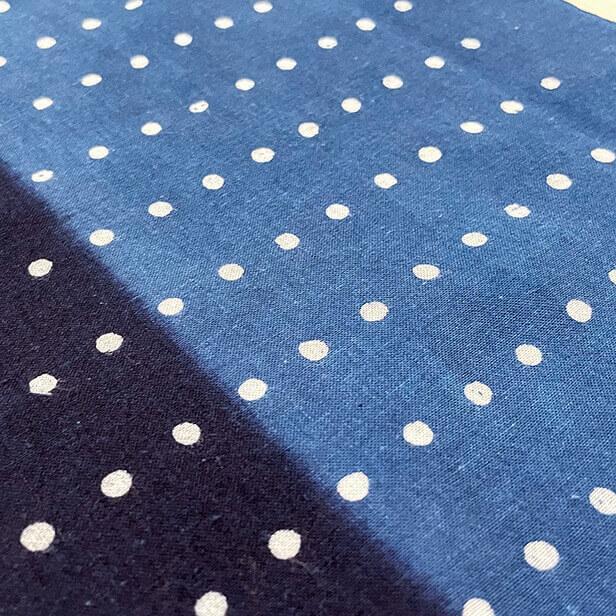 【天然染料】阿波藍染め手ぬぐい/和インテリア 飾る/日本製 綿100%/日本土産 外国人に人気/スカーフ 手ぬぐいマスク タペストリーにおすすめ/アート蒼 asanoha-shop 09
