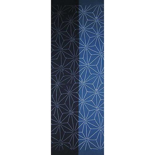 【天然染料】阿波藍染め手ぬぐい/和インテリア 飾る/日本製 綿100%/日本土産 外国人に人気/スカーフ 手ぬぐいマスク タペストリーにおすすめ/アート蒼 asanoha-shop 15