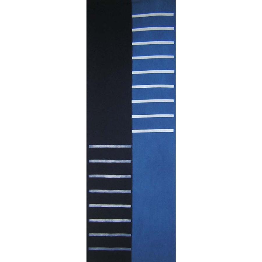 【天然染料】阿波藍染め手ぬぐい/和インテリア 飾る/日本製 綿100%/日本土産 外国人に人気/スカーフ 手ぬぐいマスク タペストリーにおすすめ/アート蒼 asanoha-shop 18