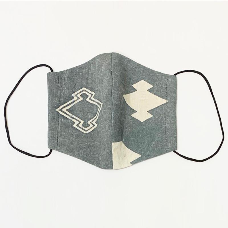 【日本製】古布マスク 立体 大人用 アンティーク 縞/ 綿100% 着物 / 粋 おしゃれ かっこいい /大きいサイズ/ ウイルス対策 /アート蒼 asanoha-shop 13