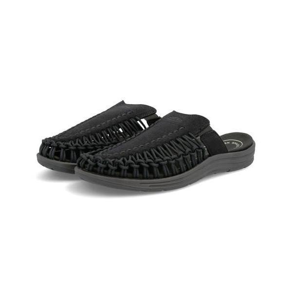 KEEN キーン UNEEK 2 SLIDE レディースサンダル(ユニーク2スライド) 1022399 ブラック/ブラック