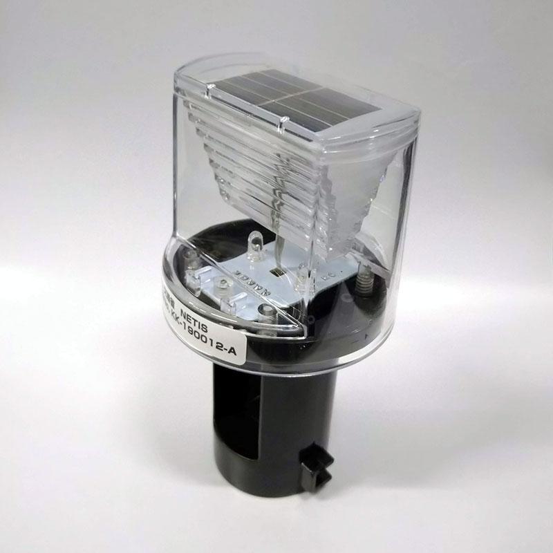 ソーラー式工事灯 led ミニソーラー 50個入