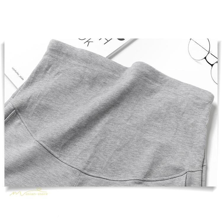 マタニティパンツ スウェットパンツ ジョガーパンツ 妊婦服 妊娠パンツ 産前産後 ロングパンツ ゆったり カジュアル ルームウェア ウエスト調整 M L XL XXL|asian-store|04