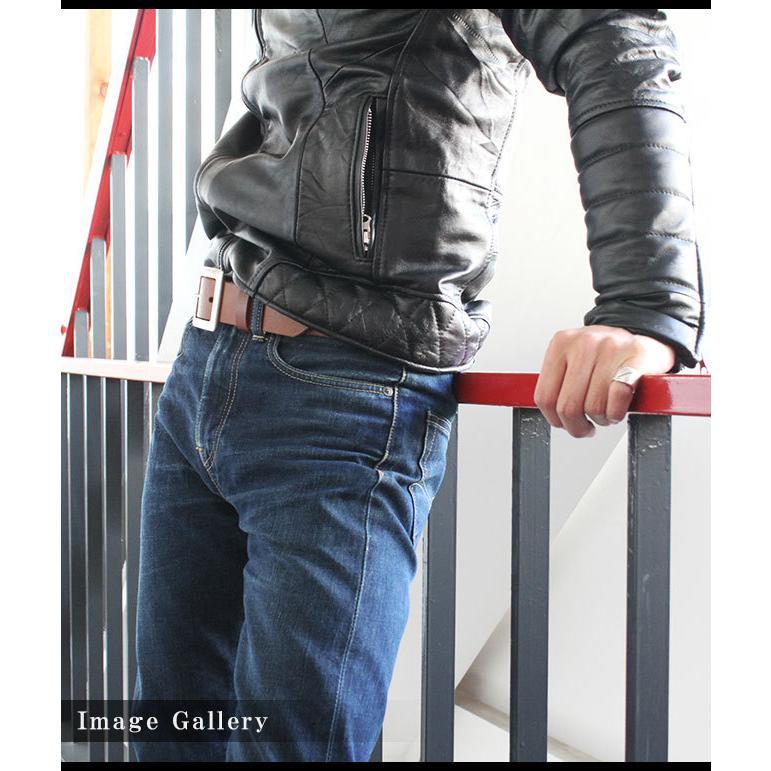 ベルト メンズ レディース シンプルバックル ブランド 本革 カジュアル 大きいサイズ ロング 極厚 レザー バックル交換可能 最長160cm|asianarts|11