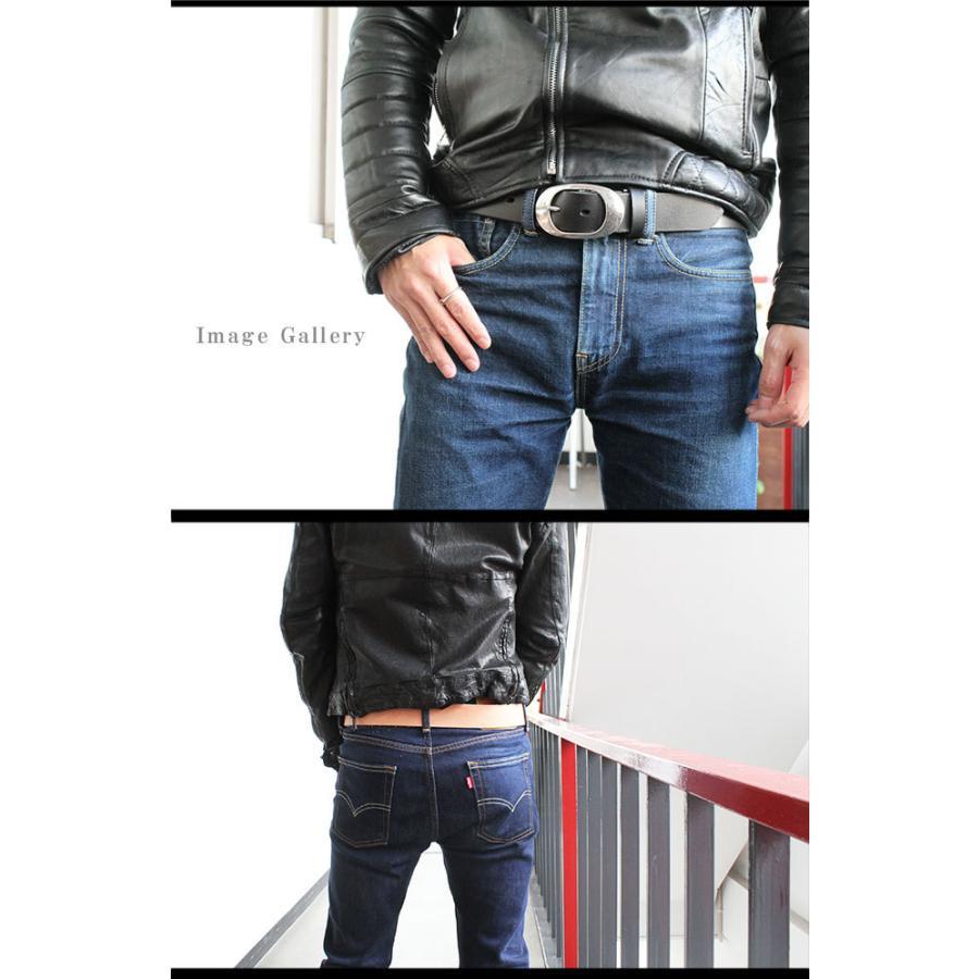 ベルト メンズ レディース シンプルバックル ブランド 本革 カジュアル 大きいサイズ ロング 極厚 レザー バックル交換可能 最長160cm|asianarts|12