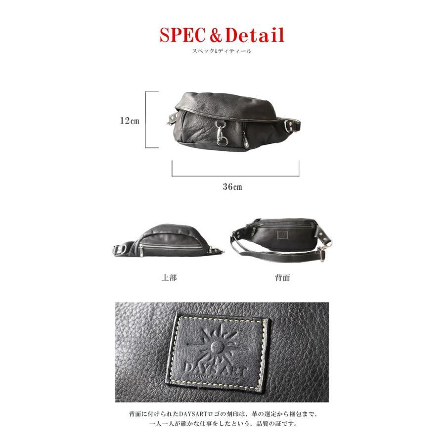 バッグ メンズ ボディバッグ 本革 レザー ウエストバッグ 斜めがけ ヒップバッグ 大容量|asianarts|03