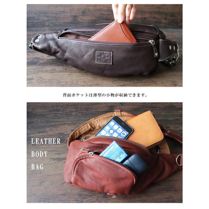 バッグ メンズ ボディバッグ 本革 レザー ウエストバッグ 斜めがけ ヒップバッグ 大容量|asianarts|06