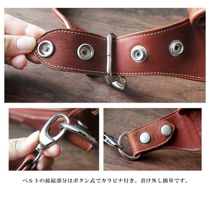 バッグ メンズ ボディバッグ 本革 レザー ウエストバッグ 斜めがけ ヒップバッグ 大容量|asianarts|07