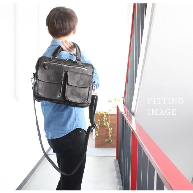 バッグ メンズ ショルダーバッグ 本革 レザー ビジネスバッグ ブリーフケース 大容量 A4 asianarts 11
