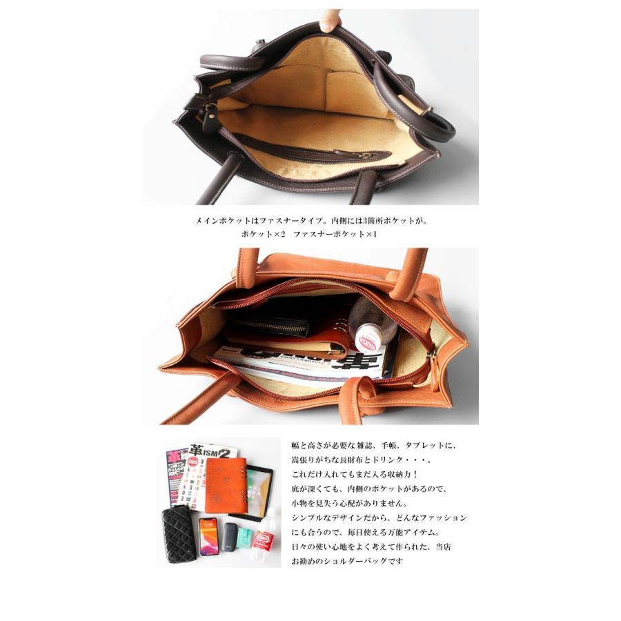 バッグ メンズ トートバッグ 本革 レザー ビジネストート カーフスキン カジュアル シンプル 縦長 縦型 A4サイズ asianarts 05