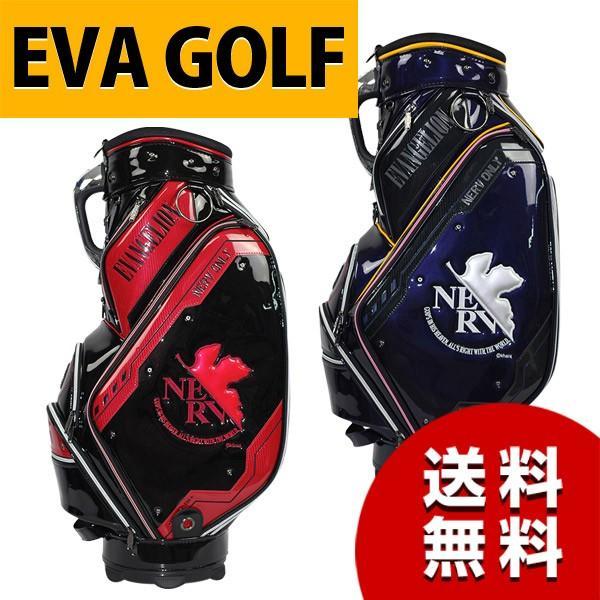 エヴァンゲリオン ゴルフ キャディバッグ EVA GOLF エヴァゴルフ
