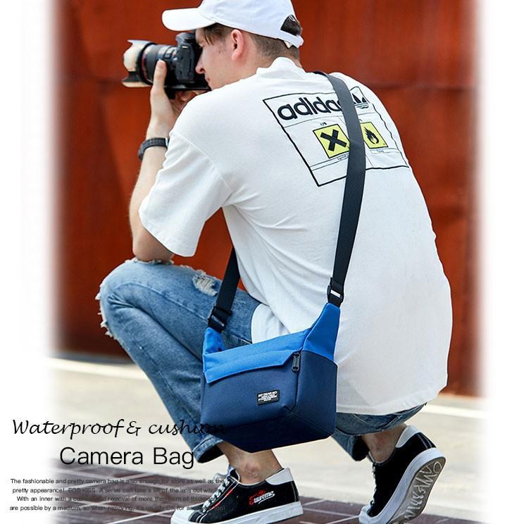 一眼レフ ミラーレス 一眼レフ用 防水カメラバッグ ショルダーバッグ 旅行 カメラバック Eos Kiss X10ダブルズームキット対応 送料無料|asianzakka|02