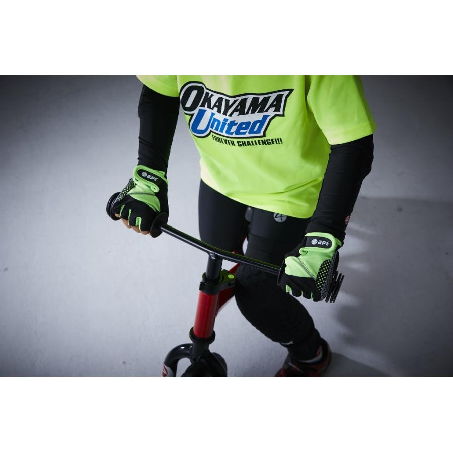 サイクルグローブ 子ども用 男の子用 女の子用 ロングフィンガー自転車用ランバイク用手袋 apt'|asiapacifictrading|08