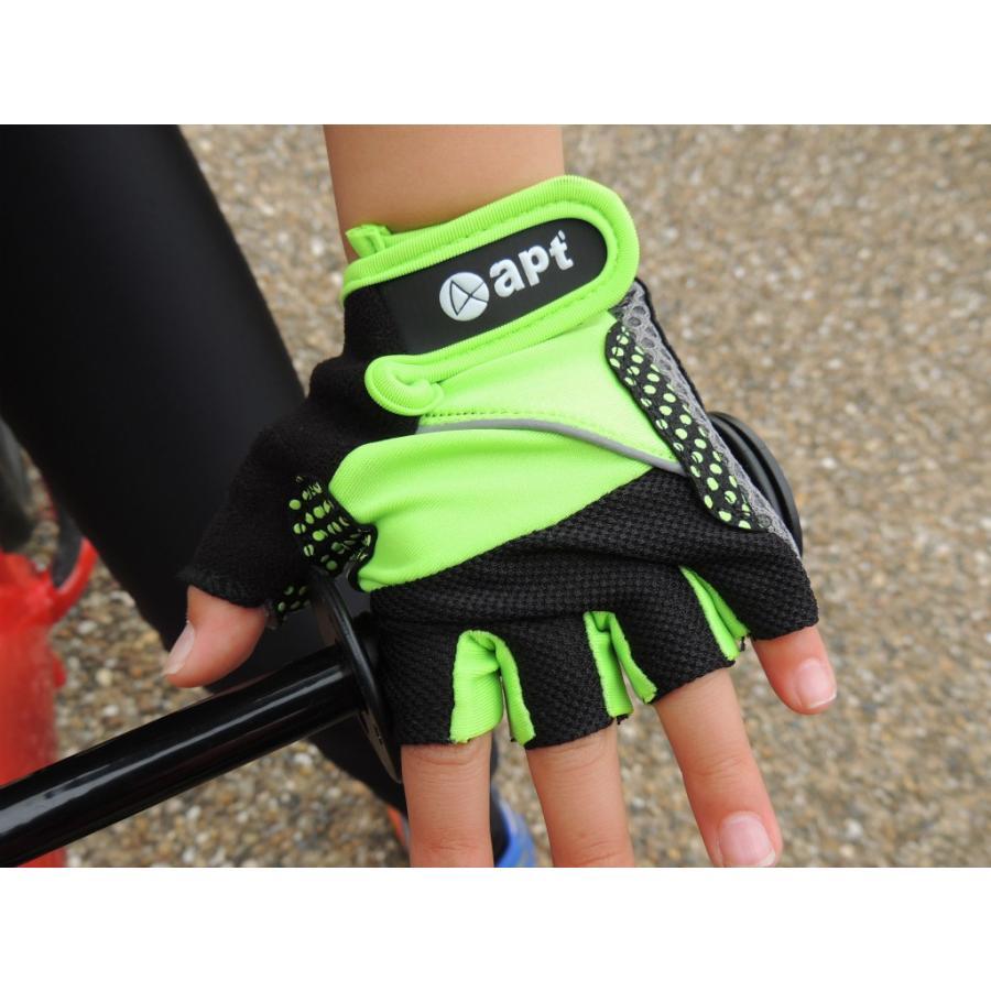 こども用サイクルグローブ ランバイクで使える 男の子 女の子用 夏用指切り自転車用手袋|asiapacifictrading|06