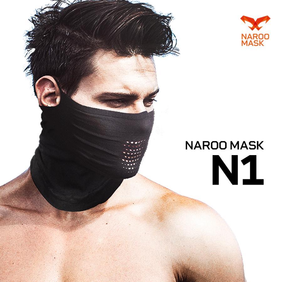 夏用フェイスマスク アウトドア 日焼け防止用 NAROO MASK N1 ナルーマスク asiapacifictrading