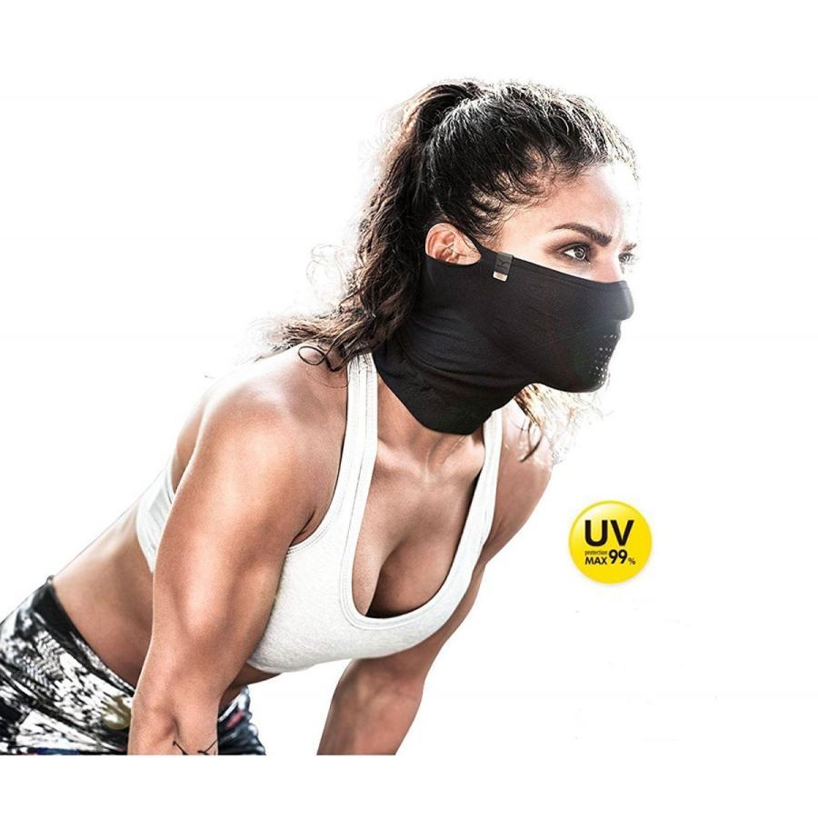 夏用フェイスマスク アウトドア 日焼け防止用 NAROO MASK N1 ナルーマスク|asiapacifictrading|02