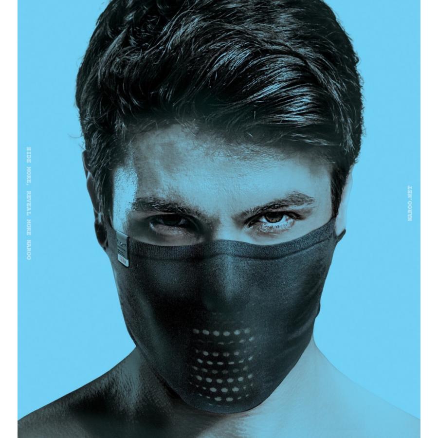 フェイスマスク フェイスカバー 日焼け止めスポーツマスク NAROO MASK ナルーマスク N1s|asiapacifictrading|02