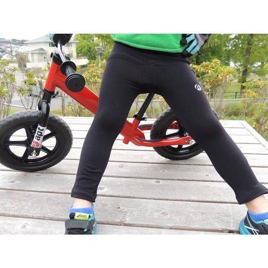 ランバイク用 暖かい裏起毛素材 ST-W パッド付きパンツ apt' バランスバイク ランバイクバイク asiapacifictrading