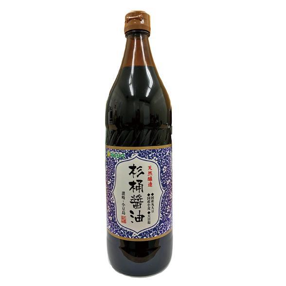 マルシマ  天然醸造 杉桶醤油<900ml>